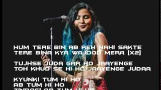 Lyrics of Let me love you | Tum hi ho (Vidya vox Mashup)