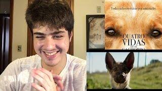 Quatro Vidas de Um Cachorro - Trailer   REAÇÃO!!