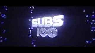 100 SUBSCRIBERS INTRO!!! (FREE TO USE!)