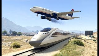 GTA 5- Airplane Worst & Stunning Emergency Landing Ep #5 -Epic Compilation