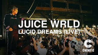 "Juice WRLD Performs ""Lucid Dreams"" Live in New York"