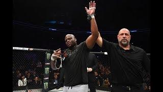 UFC Austin: Entrevista no octógono com Derrick Lewis