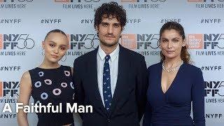 Louis Garrel, Laetitia Casta & Lily-Rose Depp on A Faithful Man | NYFF56