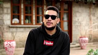 AKA and Olamide challenge each other to a One on One game of basketball