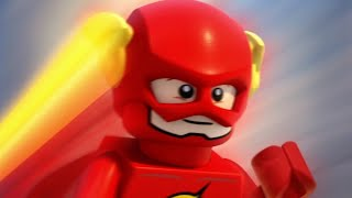 "LEGO DC Super Heroes: The Flash - ""Morning with Flash"" Clip"