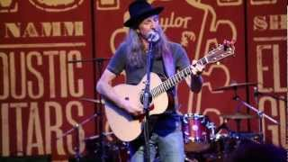 'I Know We've Won' Performed by Pat Simmons of The Doobie Brothers  •  NAMM 2013