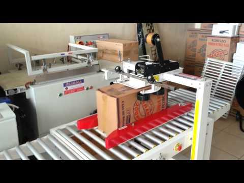 Özarma Ambalaj SP-202 NC Yarı Otomatik Koli Bantlama Makinesi