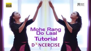 Mohe rang do laal | Bajirao Mastani | dance tutorial by Aditi width=