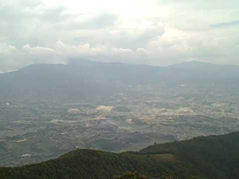Kathmandu Valley from Jamicho