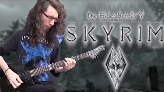 Skyrim Theme | The Song of the Dragonborn - Metal Cover || ToxicxEternity