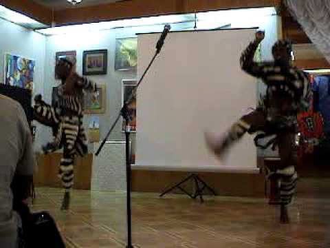 Dances at Africa Days in Kyiv, 2012