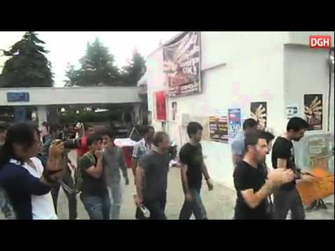 DGH - Mersin Üniversitesi'nde 1 Mayıs Yürüyüşü
