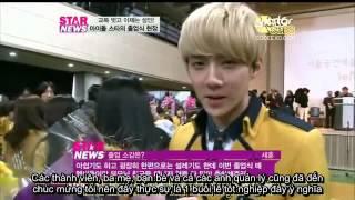 [Vietsub] 130207 Y News (Spotlight for Graduating Idol Stars) - Sehun Cut [Ếch ộp subteam]