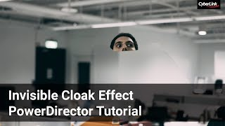 Using Chroma key to create Invisible Cloak Effect | PowerDirector Video Editor App