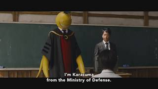 Assassination Classroom the Movies (Live Action) - Official Clip - The Target