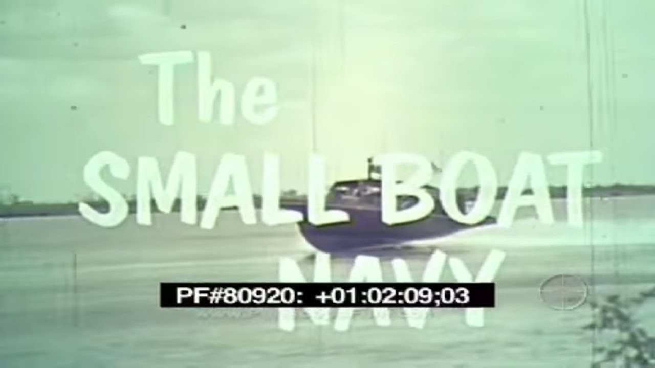 The Small Boat Navy - Vietnam Swiftboat PBR MSB LCPL Seawolf 80920