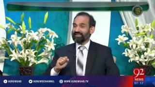Subh e Noor - 08-04-2016 - 92NewsHD