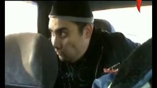 Смешной наркоман в машине ДПС