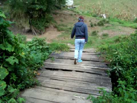 Amy and Courtney crosses THE Bridge