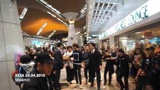 Lee Min Ho - Departure at KLIA [11street MY Event] 24.04.2015