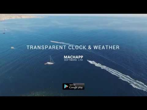 Transparent Clock Weather Ad Free 3421 Download Apk For