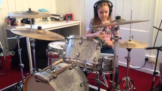 Katie - Paint it Black (Rolling Stones Drum Cover)