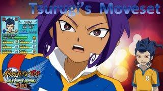 Tsurugi's Moveset In Inazuma Eleven Go Strikers 2013