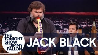Jack Black Performs His Legendary Sax-A-Boom with The Roots width=