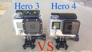 GoPro Hero4 Black Edition vs GoPro Hero3 Black Edition Slow Motion Testing