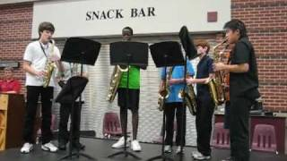 Fly Me to the Moon- Sax Quartet