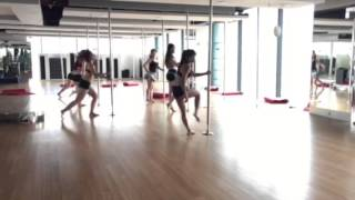 Pole fit class [Love the way you lie by Jason Chen] [sct club]