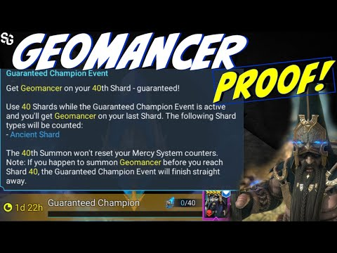 Geomancer change & testing - what needs to be done - RAID SHADOW LEGENDS