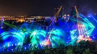 Autostadt 2014 Pink Floyd Lasershow tarm Showlaser GmbH