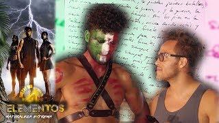 Adrián llora al recibir una carta | Mensaje sorpresa con Yurem | Reto 4 Elementos, segunda temporada