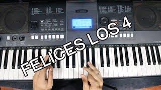 Maluma - Felices Los 4/ Tutorial Piano (Acordes Para Cantar )