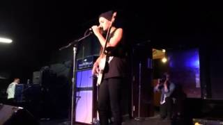 Lynn Gunn of Pvris- Sweater Weather cover 8/23/14