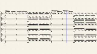 Four Season - Winter - Movement 1 for Clarinet Ensemble
