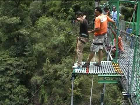 Bungee Nepal–3rd highest in the world