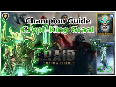 RAID Shadow Legends | Champion Guide | Crypt-King Graal