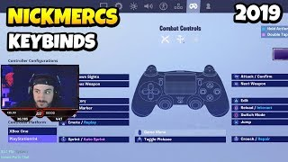 nickmercs shows best settings binds ps4 xbox controller fortnite daily funny - best controls for fortnite xbox