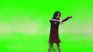 Garota Zumbi #1 - Zombie Girl #1 [Fundo Verde - Green Screen]