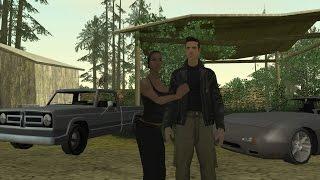 GTA San Andreas : Catalina and Claude having sex