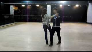 Strictly Come Dancing at Keele - Sam and Jazmine in Training (Waltz)