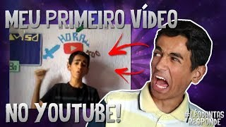 MEU PRIMEIRO VÍDEO NO YOUTUBE! #LéoDantasResponde 5