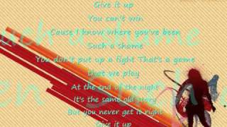 Give it up lyrics victorious