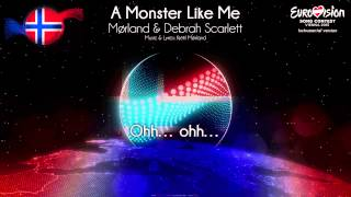 "Mørland & Debrah Scarlett - ""A Monster Like Me"" (Norway) - [Instrumental version]"