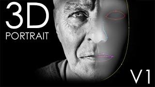 After Effects Template : 3D Portrait