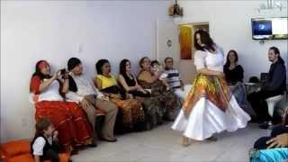 Sarau Cigano e Mostra de Danças - Bruna Filipaque - TC Danças Ciganas