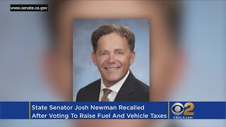 Fullerton Democrat Recalled Over Support For Gas Tax