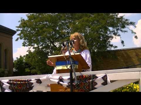 Rise Ukraine poem read by Vera Ivanitska